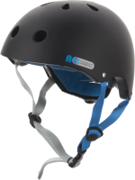 Защитный шлем Reaction S17REP6BQL/S17ERERP006-BQ (L, черный/голубой) -