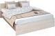 Двуспальная кровать Rikko Бася КР558 160х200 (шимо темный/шимо светлый) -