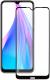 Защитное стекло для телефона Volare Rosso Fullscreen для Redmi Note 8T (черный) -