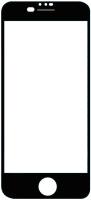 Защитное стекло для телефона Volare Rosso Fullscreen для iPhone SE 2020/8/7 (черный) -