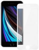 Защитное стекло для телефона Volare Rosso Fullscreen для iPhone SE 2020/8/7 (белый) -