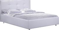 Полуторная кровать ФорестДекоГрупп Софи 200x140 (белый) -