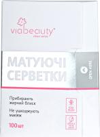 Матирующие салфетки для лица Viabeauty Для всех типов (100шт) -