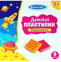 Пластилин Darvish Флуоресцентный / DV-6616-9 -