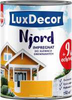 Антисептик для древесины LuxDecor Njord Зимнее солнце (750мл) -