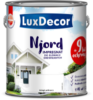 Антисептик для древесины LuxDecor Njord Полярный снег (750мл) -