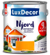 Антисептик для древесины LuxDecor Njord Текущая лава (750мл) -