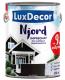 Антисептик для древесины LuxDecor Njord Полярная ночь (10л) -