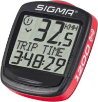 Велокомпьютер Sigma BC 01960 (красный/черный) -