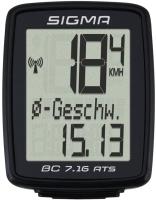 Велокомпьютер Sigma BC 7.16 / 07162 (черный) -