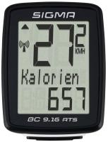 Велокомпьютер Sigma BC 9.16 / 09162 (черный) -