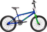 Велосипед Black Aqua Х-Jump 20 / GL-603V (синий/зеленый) -