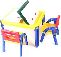 Комплект мебели с детским столом PicnMix 5 в 1 для двух детей / 367 -