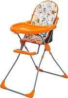 Стульчик для кормления Selby 152 Совы (оранжевый) -
