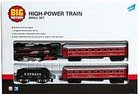 Железная дорога детская Big Motors 19033-4 с 3 вагонами -