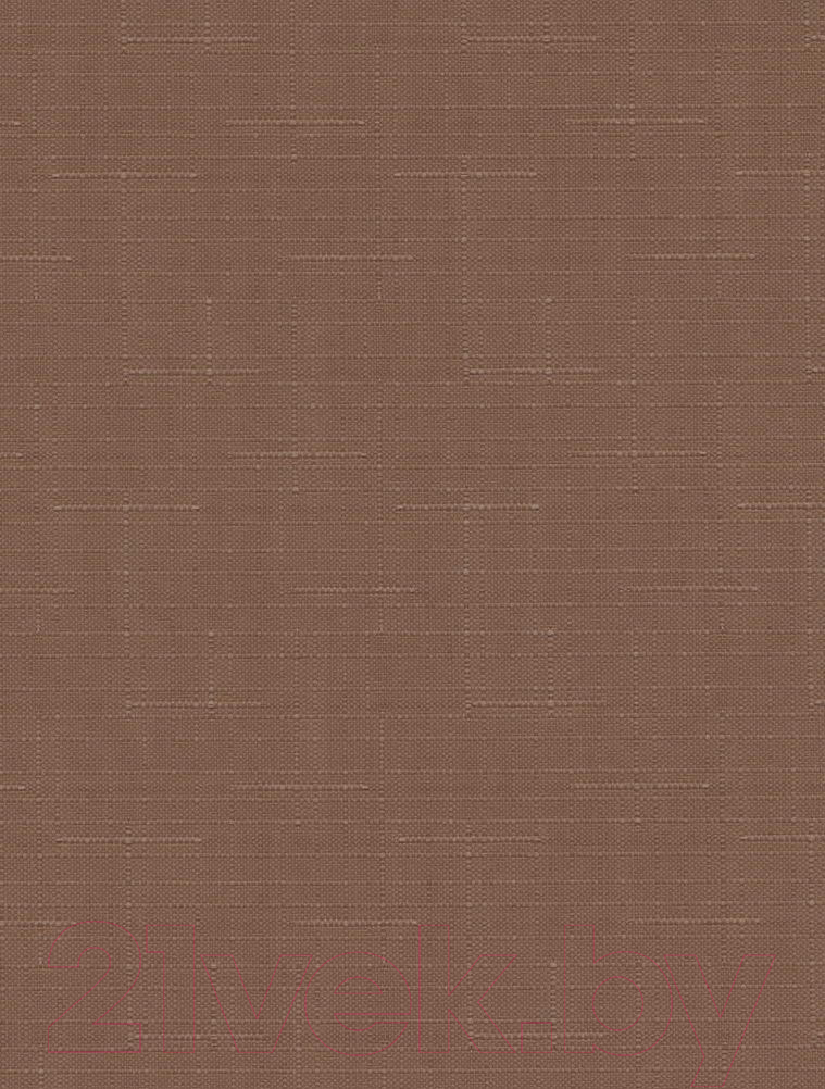 Купить Рулонная штора Delfa, Сантайм Лен СРШ-01 МД2439 (34x170, какао), Беларусь, ткань