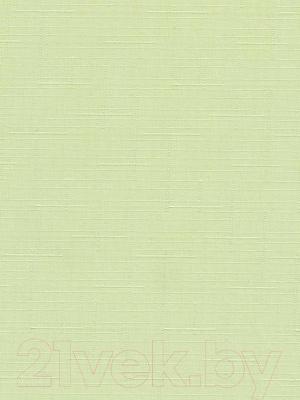 Рулонная штора Delfa Сантайм Лен СРШ-01 МД2468 (68x215, салатовый)