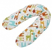 Подушка для беременных Polini Kids Жирафы большая (белый) -
