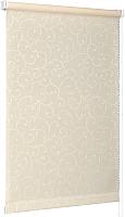 Рулонная штора Delfa Сантайм Жаккард Прима СРШ-01 МД8236 (73x170, кремовый) -
