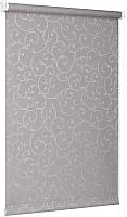 Рулонная штора Delfa Сантайм Жаккард Прима СРШ-01 МД8267 (57x170, серый) -
