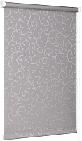 Рулонная штора Delfa Сантайм Жаккард Прима СРШ-01 МД8267 (68x170, серый) -