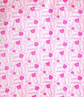 Шторка-занавеска для ванны Savol S-01718G (розовые розы) -