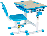 Парта+стул FunDesk Bambino (голубой) -