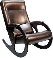 Кресло-качалка Бастион 3 (темно-коричневый) -