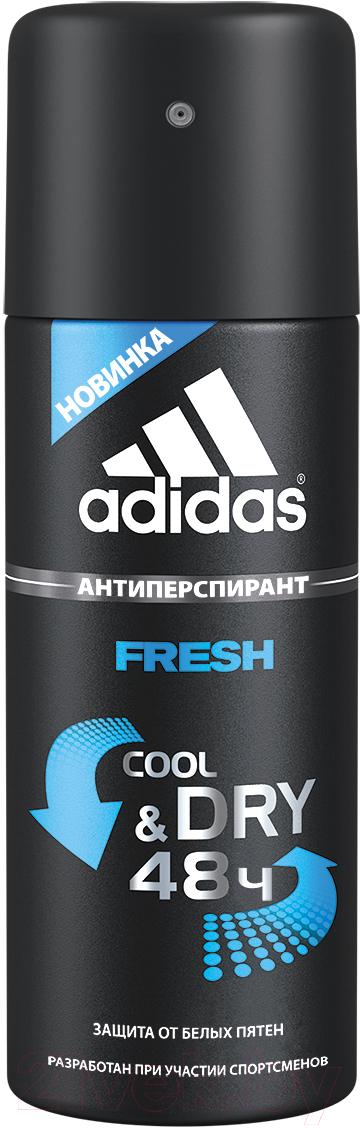 Купить Дезодорант-спрей Adidas, Cool&Dry Fresh 48ч антиперспирант (150мл), Испания