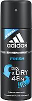Дезодорант-спрей Adidas Cool&Dry Fresh 48ч антиперспирант (150мл) -