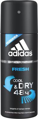 Дезодорант-спрей Adidas Cool&Dry Fresh 48ч антиперспирант (150мл)