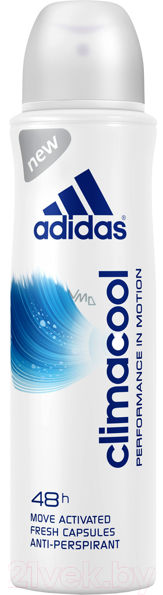 Купить Дезодорант-спрей Adidas, Climacool 48ч антиперспирант (150мл), Испания