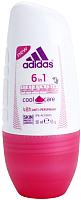 Дезодорант шариковый Adidas Cool&Care 6 в 1 48ч антиперспирант (50мл) -
