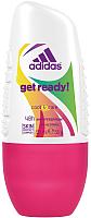 Дезодорант шариковый Adidas Cool&Care Get Ready 48ч антиперспирант (50мл) -
