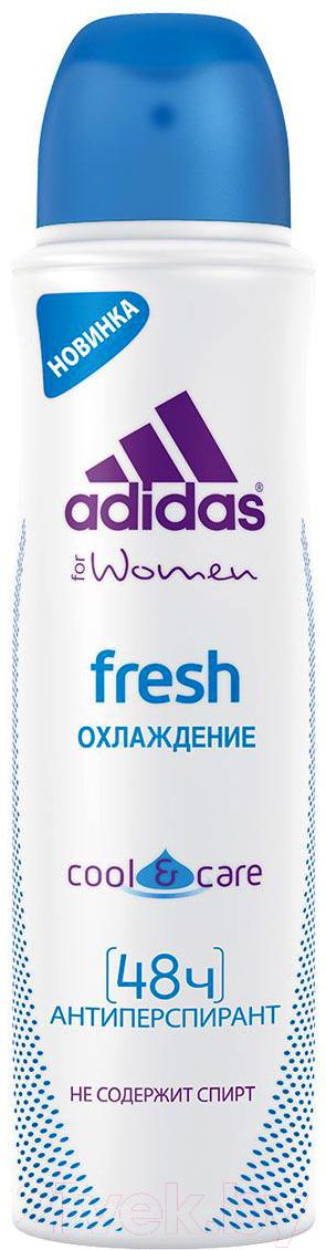 Купить Дезодорант-спрей Adidas, Cool&Care Fresh 48ч антиперспирант (150мл), Испания