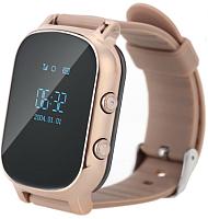 Умные часы детские Smart Baby Watch GW700 (золото) -
