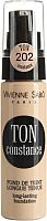 Тональный крем Vivienne Sabo Ton Constance тон 202 (бежевый нейтральный) -