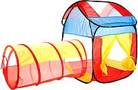 Детская игровая палатка Maya Toys Домик с тоннелем / 995-7012A -