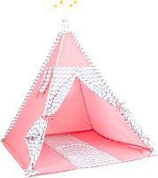 Детский вигвам Polini Kids Зигзаг (розовый) -