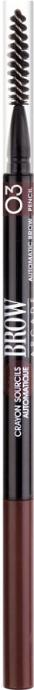 Купить Карандаш для бровей Vivienne Sabo, Brow Arcade тон 03 (темно-коричневый), Франция, брюнет/шатен (коричневый)