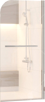 Стеклянная шторка для ванны RGW SC-15 / 06111508-11 (хром/прозрачное стекло) -