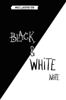 Записная книжка Эксмо Black & White Note / 9785699940844 -