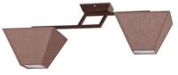 Потолочный светильник N&B Light Руф 40005 (коричневый матовый) -