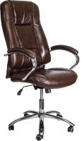Кресло офисное Седия King A (темно-коричневый) -