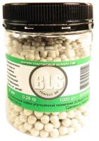 Шарики для страйкбола BLS 6мм 0.28г (1000шт, белый) -