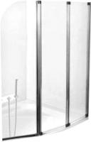 Стеклянная шторка для ванны Besco Ambition 3 (прозрачный) -