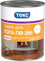 Эмаль Текс Универсал ПФ-266 (2.2кг, золотисто-коричневый) -