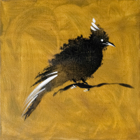 Авторская картина ХO-Gallery Птица 21 / АГ–2020–002 (А. Галенко) -