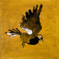 Авторская картина ХO-Gallery Птица 24 / АГ–2020–005 (А. Галенко) -