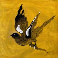 Авторская картина ХO-Gallery Птица 25 / АГ–2020–006 (А. Галенко) -